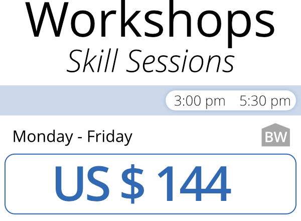 Workshops Skill Sessions